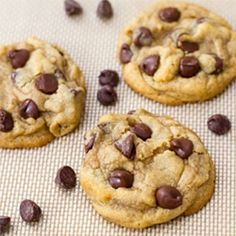 Chewy I Mean Really Chewy Chocolate Chip Cookies