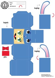 Blog_Paper_Toy_papertoys_Kiddo_Costume_templates_preview