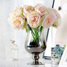 5 Heads Artificial Flowers Peony Hands Holding Silk Flower Bridal Bridesmaid Bouquet Latex Real Touch Floral Wedding Party >>> You can find out more details at the link of the image. #HomeDecor