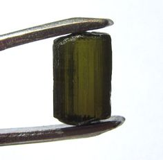 Himalaya Olive Green Tourmaline Rough 3.60 Cts Specimen Jewelry Making 102X