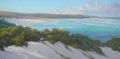 Beach artwork painting - Kerry Nobbs - Redgate