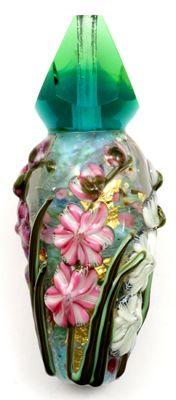 handmade lampworked glass beads, Leah Fairbanks Handmade Glass Beads Home