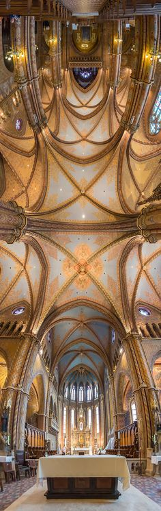 Photographer Richard Silver's Vertical Churches is a visually dramatic series of vertical panoramic shots of churches from around the globe. Architecture Cool, Religious Architecture, Panoramic Pictures, Church Interior, Photography Series, Photoshop, Modern Metropolis, Place Of Worship, Kirchen