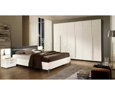 Have you thought of designing your bedroom in white? White is a calm color representing peace and purity, and if you want your bedroom to reflect calmness, this is the perfect shade for you. Romina bedroom, Bed 180 x 200 x nightstand 77 x wardrobe 274 x Design Your Bedroom, Small Bedroom Designs, How To Clean Furniture, White Furniture, Bedroom Sets, Bedroom Decor, Ashley Bedroom, Dressing Room Design, Simple Living Room