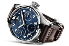 """Just last month we introduced two new Pilot Watches from IWC to you, the Big Pilot's Watch Perpetual Calendar """"Le Petit Prince"""" and the Pilot's Watch Mark XVII Edition """"Le Petit Prince"""". After an already staggering auction result earlier today, now IWC can announce a most impressive auction result. A unique version in platinum of the Big Pilot's Watch Perpetual Calendar """"Le Petit Prince"""" just sold for 173,000 Swiss Francs."""
