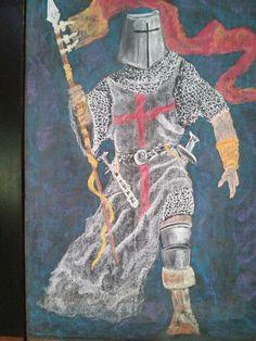 Blackboard Drawing, Chalkboard Drawings, Chalk Drawings, Chalkboard Art, Rome Painting, Painting & Drawing, Seventh Grade, Sixth Grade, Middle Ages