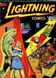 V1-N°6 Lightning Comics