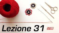 Chiacchierino Ad Ago - 31˚ Lezione Come Lavorare Con Due Fili Due Colori...