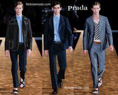 Abiti Prada primavera estate moda uomo