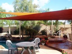 New Deluxe Rectangle Square Sun Sail Shade Canopy Top | eBay