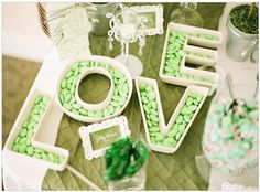 Saint Patrick's Day - Lucky In Love - Wedding Themed Details - 2015