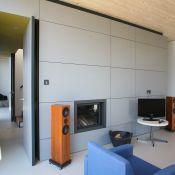 Wohnen und Leben - Wohnzimmer-Einbauschrank