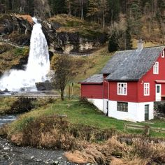 The Earth Story — Steinsdalsfossen waterfall, Norway