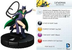 Catwoman #008 DC 10th Anniversary Heroclix Singles - DC Heroclix 10th Anniversary - HeroClix - Miniatures