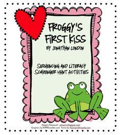 Classroom Freebies: Froggy's First Kiss
