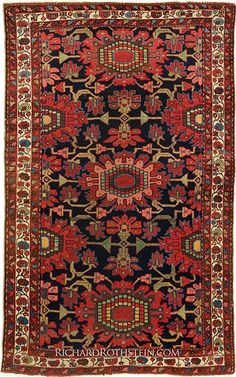 Antique Northwest Persian Rug C82D4302