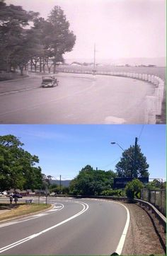 Approach to Victoria Bridge Great Western Highway, Emu Plains Library Phil Harvey. By Phil Harvey] Australian Road Trip, Phil Harvey, Penrith, Great Western, Local History, Emu, Blue Mountain, South Wales, Homeland