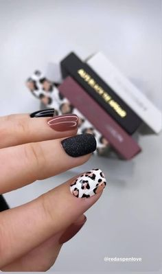 Fall Gel Nails, Cute Nails For Fall, Cute Gel Nails, Get Nails, Love Nails, Simple Fall Nails, Fall Manicure, Country Nails, Simple Acrylic Nails