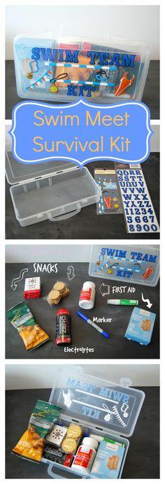 Got a Kid in Sports? Make a Sports Kit! Check this Swim Team Kit! | The TipToe Fairy #WellAtWalgreens #shop
