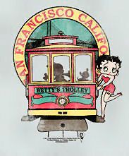 Betty Boop and the trolly