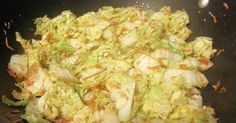 Leah's Napa Cabbage Stir Fry Recipe - Yummy this dish is very delicous. Let's make Leah's Napa Cabbage Stir Fry in your home! Stir Fry Recipes, Gf Recipes, Veggie Recipes, Asian Recipes, Healthy Recipes, Skinny Recipes, Thai Recipes, Easy Recipes, Vegetarian Recipes
