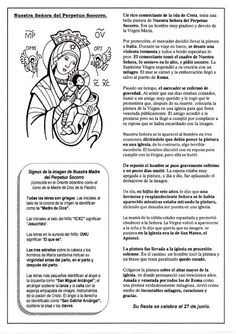 El Rincón de las Melli: Nuestra Señora del Perpetuo Socorro (historia)