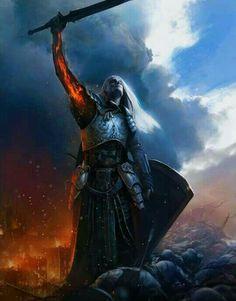 m Paladin Plate Armor Shield Sword Battle Eastern border bodies Male Human lg Dark Fantasy Art, Fantasy Artwork, High Fantasy, Fantasy Rpg, Medieval Fantasy, Fantasy World, Fantasy Warrior, Paladin, Fantasy Inspiration