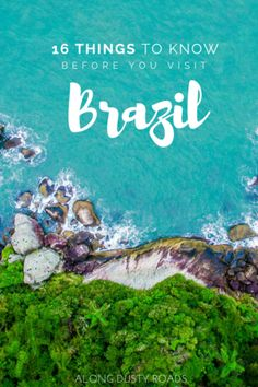Here are 16 incredibly useful things to know BEFORE you travel to Brazil! Everything you should know about visiting brazil, visit Brazil, where to go in brazil Cool Places To Visit, Places To Travel, Travel Destinations, Vacation Places, Vacation Deals, Vacations, Backpacking South America, South America Travel, Rio Grande
