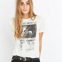 CLICK TO SHOP IT ! #bowie #graphictees https://www.theshopally.com/sophie-etchart/20160215/click-to-shop-it-bowie-graphictees