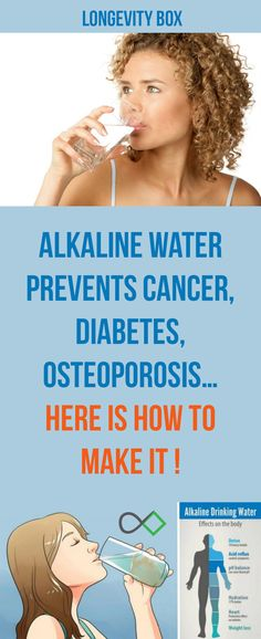 """Retired Chief of a Pharmacy said: """"The World needs to Know, That Alkaline Water Kills Cancer"""""""