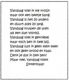 Versje Sinterklaas *liestr*