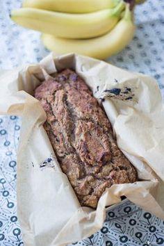 Habt ihr Lust auf ein leckeres süßes und auch noch glutenfreies Bananen Apfel Brot ? Geht mit Honig auch als leckerer Kuchen durch - super Proviant!