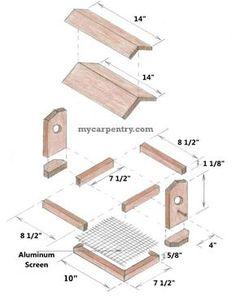 free wooden bird house plans | The Boy\'s Almanac » Free Bird House ...