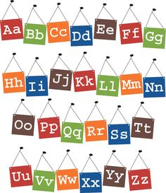 Vinyl Wall Art - alphabet for home school room