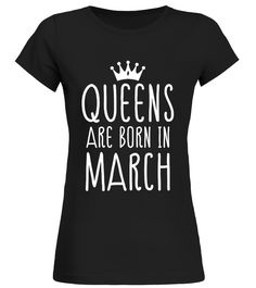 CHECK OUT OTHER AWESOME DESIGNS HERE!   Shop for Birthday Gift Guide shirts, hoodies and gifts. Find Birthday Gift Guide designs printed with care on top quality garments.     Best birthday t-shirt for all Men, Women, Kid born in March, Wear this and receive compliments. Best to gift your love ones, Queens Are Born In February Men, Women, Kid T-shirt, Born in March Capricorn.   TIP: If you buy 2 or more (hint: make a gift for someone or team up) you'll save quite a lot on shipping.   ...