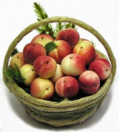 Nectarine #fruit, miniatures