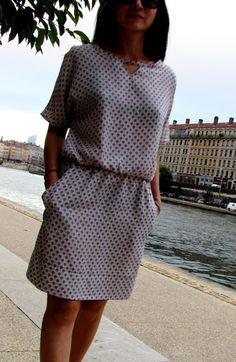Robe Kimono «Eventail»
