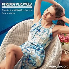 """VERO MODA India on Twitter: """"Our Mermaid Collection embodies all of the elegance and colour that comes with summertime fashion! #TRENDYVEROMODA https://t.co/z6JUWpWQSI"""""""