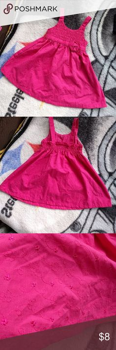 *3 FOR $15* Pink Baby Girl Summer Dress Excellent Condition Never used No rips No stains Smoke free house lemon kiss Dresses Casual