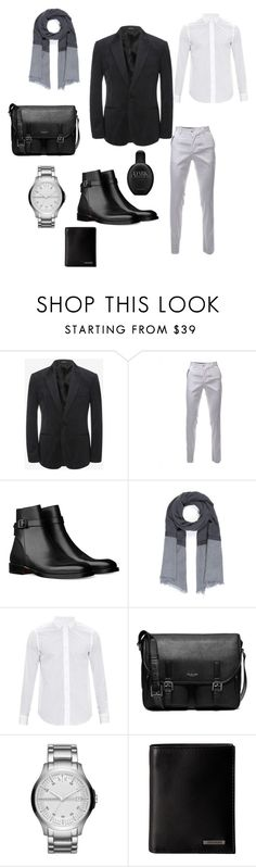 """Feel Good/Look Good"" by whatsyourswagg ❤ liked on Polyvore featuring Alexander McQueen, DESTIN, Loewe, Michael Kors, Armani Exchange, Steve Madden, Calvin Klein, men's fashion and menswear"