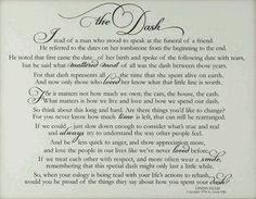 the dash poem   Shaped By Grace: What I Wore: Living my Dash  One of the most beautiful things I have ever read, must read