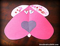 Crafting With Kids (Valentine's Day) Stop by the blog for different construction paper project ideas for kids. All projects include hearts, so they are perfect for Valentine's Day!