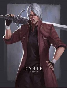 Devil May Cry Dante By dboat Devil May Cry 4, Cars Movie Characters, Geeks, Dmc 5, Arte Horror, Video Game Art, Bad Boys, Character Art, Character Design