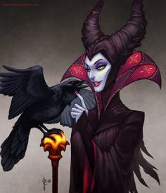 Maleficent.. The evil queen.