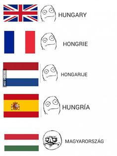 Pronounced Mawg-diawr-or-sag Very Funny Pictures, Bizarre Pictures, Rage Faces, Funny Video Memes, Me Too Meme, Love Languages, How To Speak Spanish, Funny Comics, Funny Moments