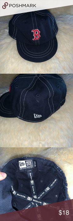 New Era Genuine Merchandise Boston Red Sox Hat Infant OSFA baseball cap Boston Red Sox Logo New Era Accessories Hats