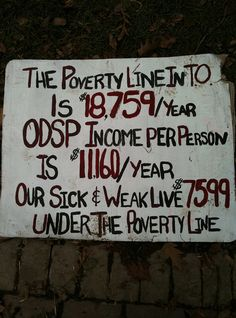 The Poverty Line in Toronto St Lawrence Market, Line Photo, Equal Opportunity, Ontario, Social Justice, Sick, Investing
