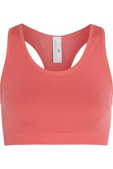 Adidas by Stella McCartney Yoga stretch-jersey sports bra | NET-A-PORTER