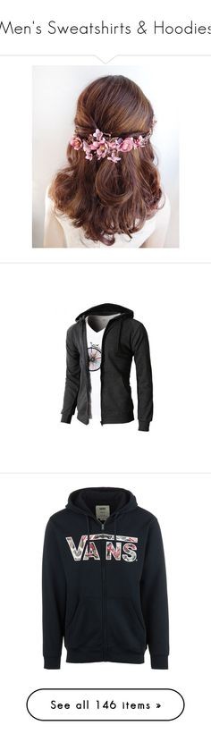 """Men's Sweatshirts & Hoodies"" by servayne ❤ liked on Polyvore featuring accessories, hair accessories, hair, hairstyle, bridal comb, hair comb accessories, gold flower hair accessories, bride hair accessories, gold hair accessories and men's fashion"