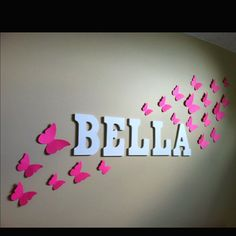 love butterflies. do you think honey would mind them for our bedroom decor?
